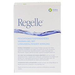 REGELLE feuchtigkeitsspend.Vaginalgel Einw.-Appl. 12x6.5 Gramm - R�ckseite