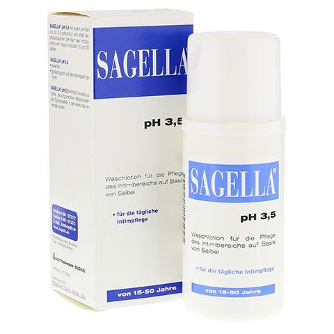 SAGELLA pH 3,5 Waschemulsion 100 Milliliter