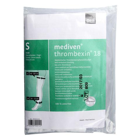 MEDIVEN Thrombexin 18 Obersch.str.Gr.S m.Haftb. 2 St�ck