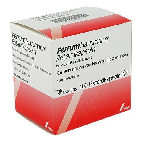 Ferrum Hausmann 100mg Eisen 100 St�ck N3