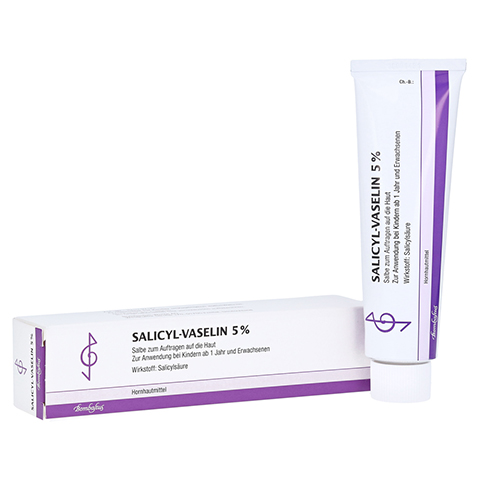 SALICYL-VASELIN 5% 100 Milliliter