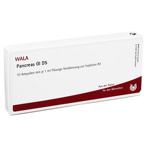 PANCREAS GL D 5 Ampullen 10x1 Milliliter N1