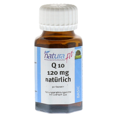 NATURAFIT Q10 120 mg Kapseln 90 Stück