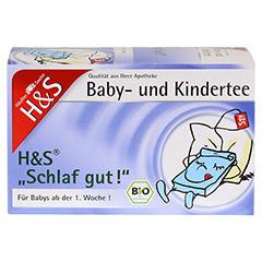 H&S Bio Schlaf gut Baby- und Kindertee Filterbeut. 20 Stück - Vorderseite