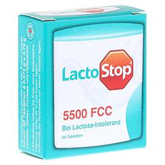 LACTOSTOP 5.500 FCC Tabletten Klickspender 50 St�ck