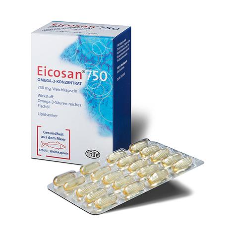 Eicosan 750 Omega-3-Konzentrat 120 Stück N1