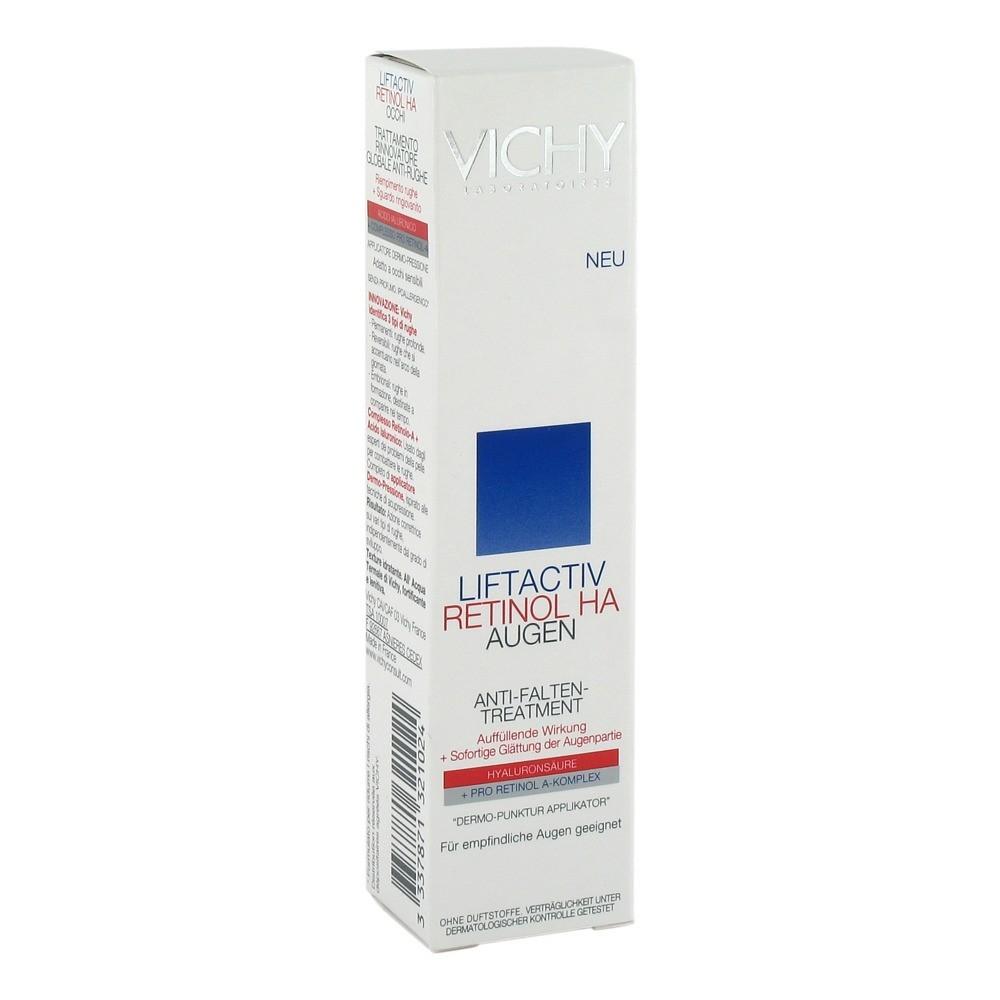 Erfahrungen zu VICHY LIFTACTIV Retinol HA Augencreme 15