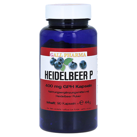 HEIDELBEER P 400 mg Kapseln 90 Stück