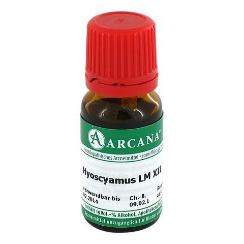 HYOSCYAMUS Arcana LM 12 Dilution 10 Milliliter N1