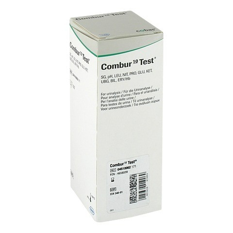 COMBUR 10 Test Teststreifen 100 Stück