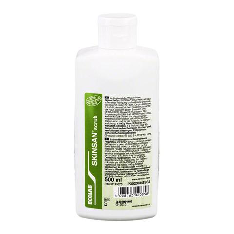 SKINSAN scrub antimikrobielle Waschlot.Spenderfl. 500 Milliliter