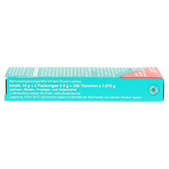 LACTOSTOP 5.500 FCC Tabletten Klickspender Dop.Pa. 2x120 Stück - Linke Seite