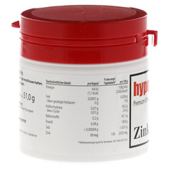 HYPO A Zink Kapseln 120 Stück - Linke Seite