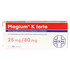MAGIUM K forte Tabletten 20 St�ck - Vorderseite
