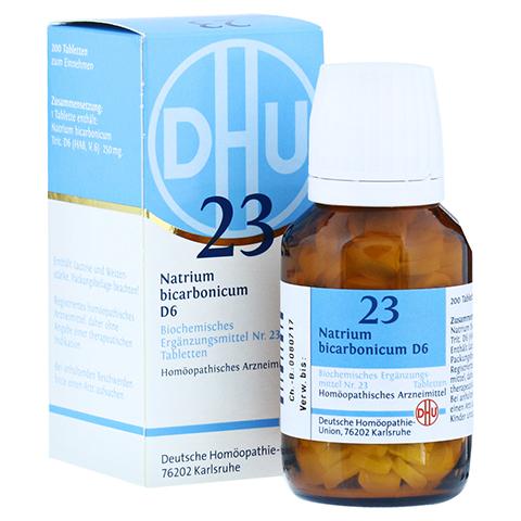BIOCHEMIE DHU 23 Natrium bicarbonicum D 6 Tabl. 200 Stück