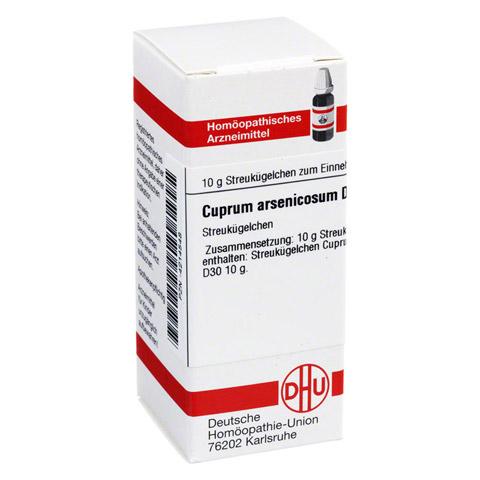CUPRUM ARSENICOSUM D 30 Globuli 10 Gramm N1