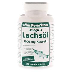 OMEGA 3 Lachsöl 1.000 mg Kapseln 120 Stück
