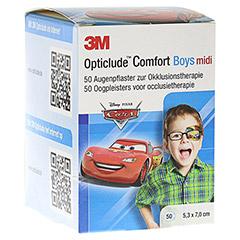 Opticlude 3M Comfort Disney Pflaster Boys midi 50 Stück