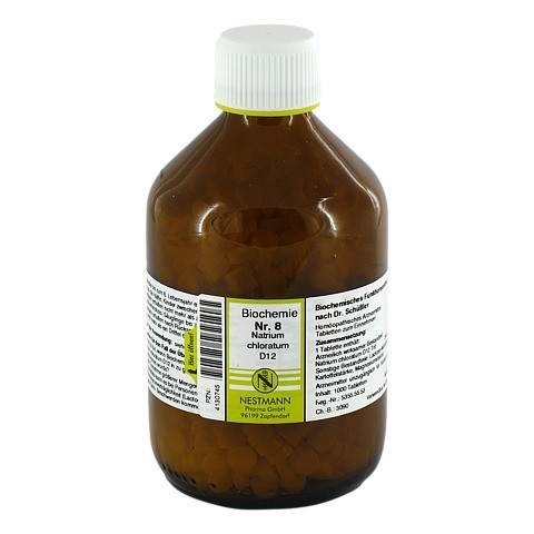 BIOCHEMIE 8 Natrium chloratum D 12 Tabletten 1000 Stück