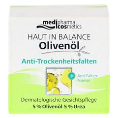 HAUT IN BALANCE Olivenöl Anti Trockenheitsfalten 50 Milliliter - Vorderseite