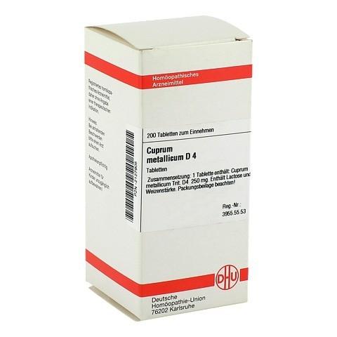 CUPRUM METALLICUM D 4 Tabletten 200 Stück N2