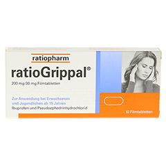 RATIOGRIPPAL 200 mg/30 mg Filmtabletten 10 Stück - Vorderseite