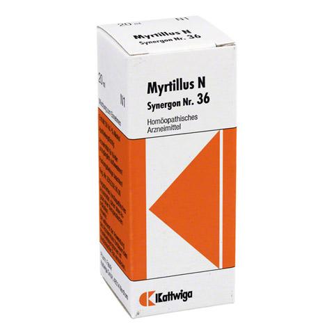 SYNERGON KOMPLEX 36 Myrtillus N Tropfen 20 Milliliter