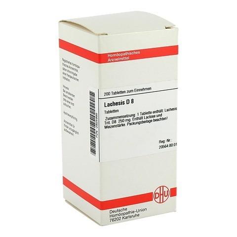 LACHESIS D 8 Tabletten 200 St�ck N2