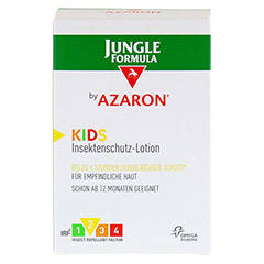 JUNGLE Formula by AZARON KIDS Lotion 125 Milliliter - Vorderseite