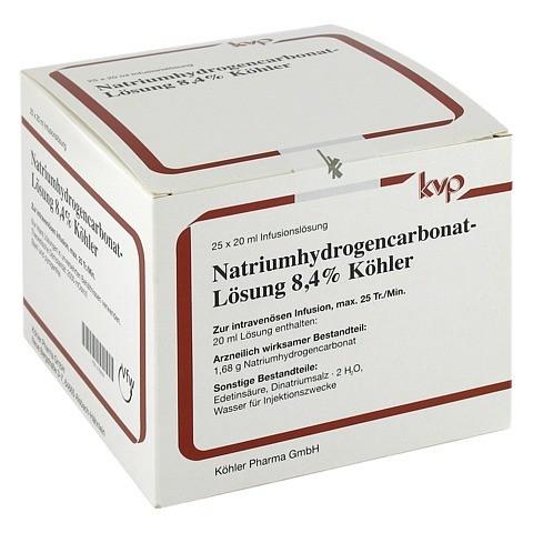 NATRIUM HYDROGENCARBONAT 8,4% 25x20 Milliliter