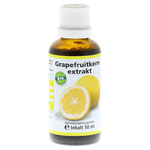 GRAPEFRUIT KERN Extrakt Bio Lösung 50 Milliliter