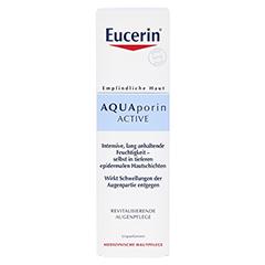 EUCERIN AQUAporin Active Augenpflege Creme 15 Milliliter - Vorderseite