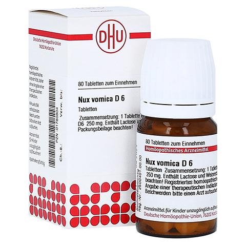 NUX VOMICA D 6 Tabletten 80 Stück N1