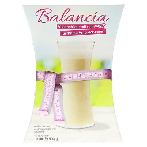 BALANCIA Vitalmahlzeit Pulver zum Abnehmen 500 Gramm