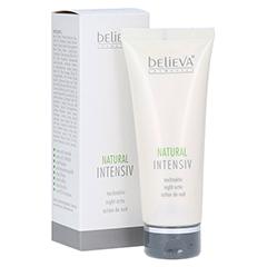 BELIEVA Natural Intensiv nachtaktiv Creme 75 Milliliter