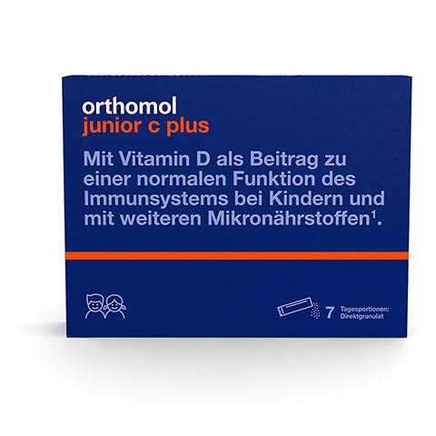 ORTHOMOL Junior C plus Kautabl.Mandarine/Orange 30 Stück