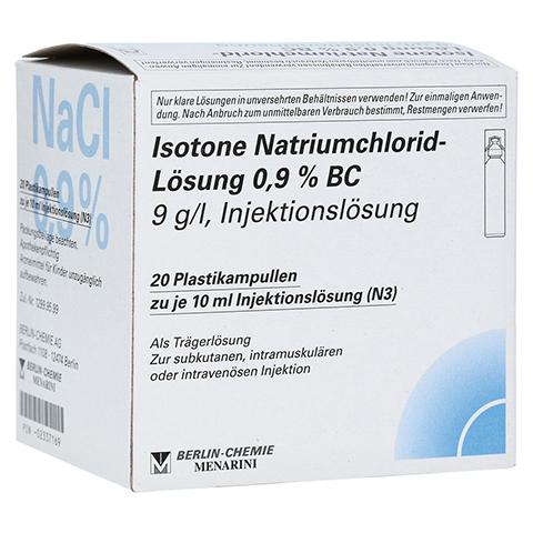 ISOTONE NaCl Lösung 0,9% BC Plast.Amp.Inj.-Lsg. 20x10 Milliliter N3