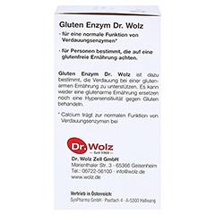 GLUTEN Enzym Kapseln 60 Stück - Linke Seite