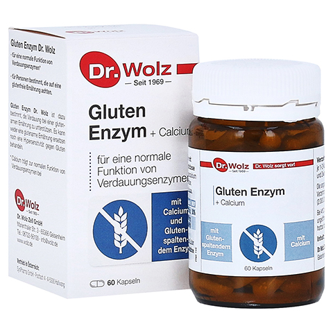 GLUTEN Enzym Kapseln 60 Stück