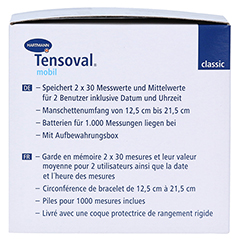 TENSOVAL mobil classic Handgelenk Blutdruckuhr 1 Stück - Linke Seite