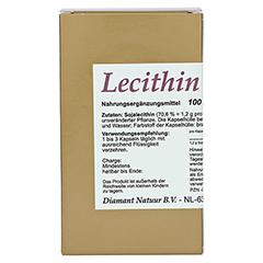 LECITHIN 1200 Kapseln 100 Stück - Vorderseite