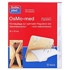 OSMO MED AG Wundauflage steril 10x12 cm 10 Stück - Vorderseite