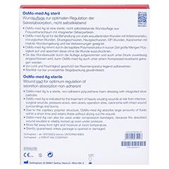 OSMO MED AG Wundauflage steril 10x12 cm 10 Stück - Rückseite