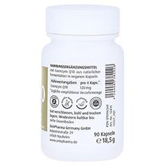 COENZYM Q10 KAPSELN 30 mg 90 Stück - Rechte Seite