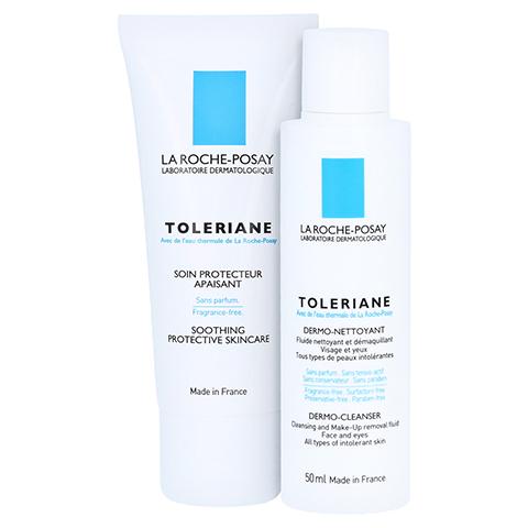 ROCHE POSAY Toleriane Creme + gratis La Roche Posay Toleriane-Reinigungsfluid 50 ml 40 Milliliter