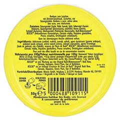 Bach Original Rescue Pastillen Zitrone 50 Gramm - Rückseite