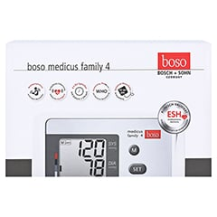 BOSO medicus family 4 Oberarm Blutdruckmessgerät 1 Stück - Vorderseite