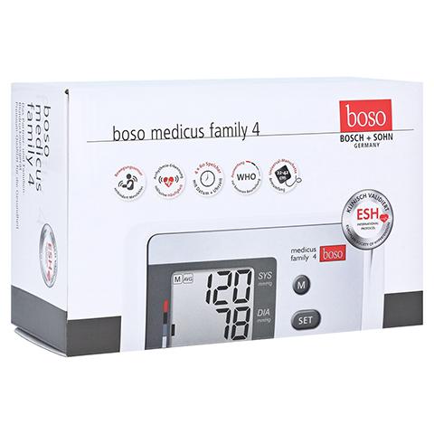 BOSO Medicus Family 4 Oberarm Blutdruckmessgerät 1 Stück