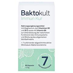 BAKTOKULT Immun Kur Kapseln 60 Stück - Vorderseite