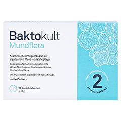 BAKTOKULT Mundflora Lutschtabletten 20 Stück - Vorderseite
